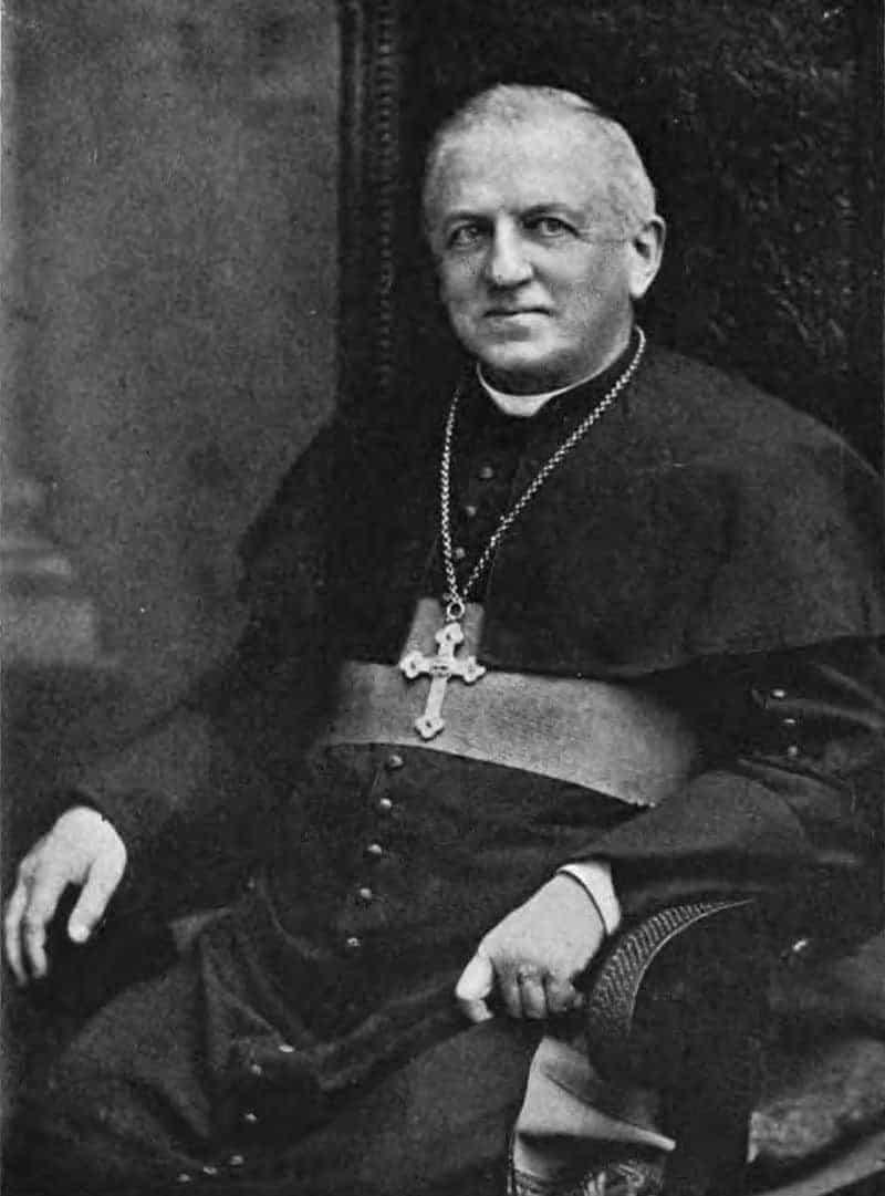 Bishop Augustine Van de Vyver